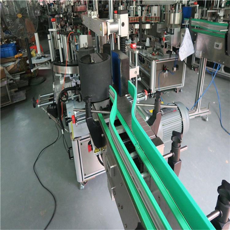দুটি স্বয়ংক্রিয় স্টিকার লেবেলিং মেশিন দ্বৈত পার্শ্বযুক্ত লেবেলার 6000-8000 বি / এইচ
